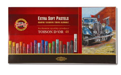 Suve pastele EXTRA SOFT TOISON D OR - 48 kom