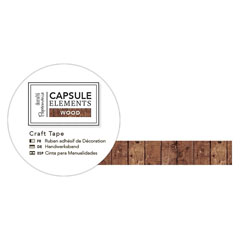 Samolepljiva traka Capsule Elements - Wood - Pruge - 3 m