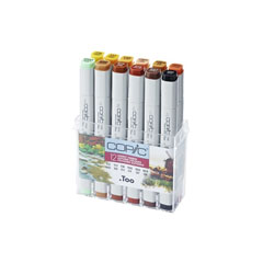 Flomasteri COPIC Classic Autumn Colours - set od 12 kom