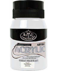 Akrilna boja Royal Essentials 500 ml - Titanium White