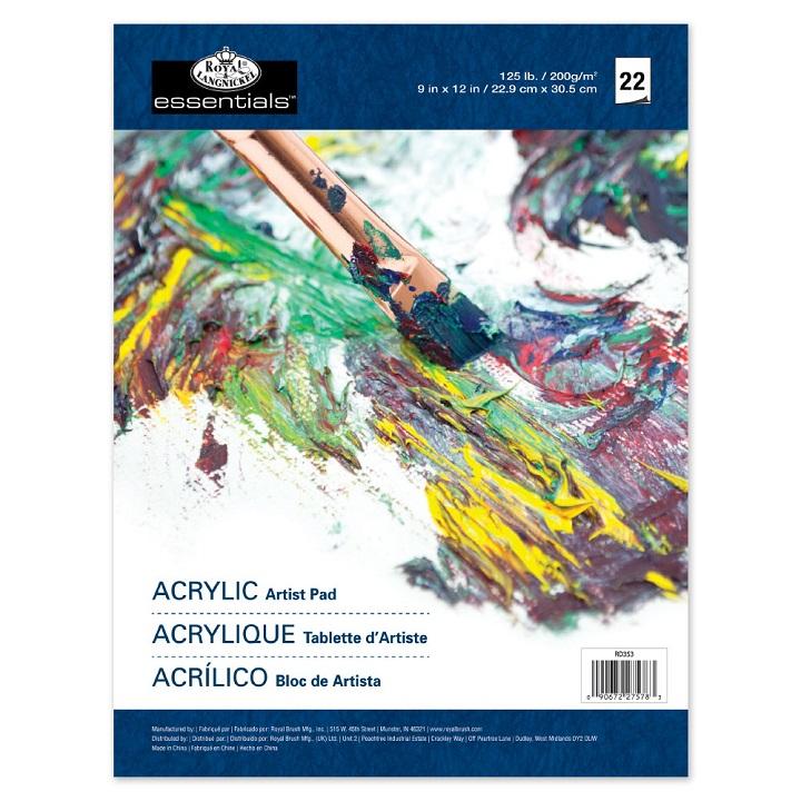 Blok Papir Za Crtanje (Uljane Boje/Akrilne Boje) Royal & Langnickel Artist  Pad /
