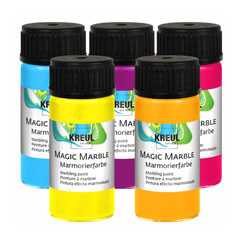 Boja za mramorni efekat HOBBY Line Magic Marble Metalic 20 ml - razne boje