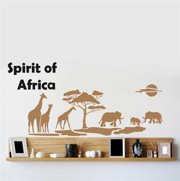 Šablon za zid Home Design BRICO XXL - Spirit of Africa