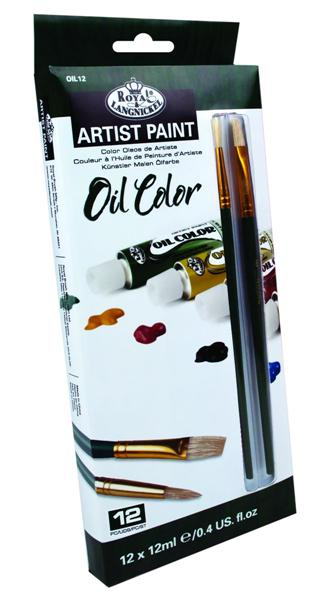 Uljane boje ARTIST Paint 12x12ml