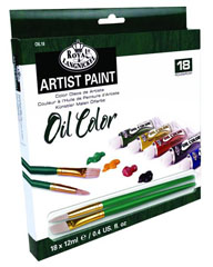 Uljane boje ARTIST Paint 18x12ml