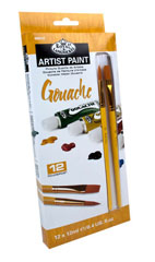 Gvaš boja ARTIST Paint 12x12ml