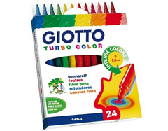 Flomasteri GIOTTO TURBO COLOR - 24 boja