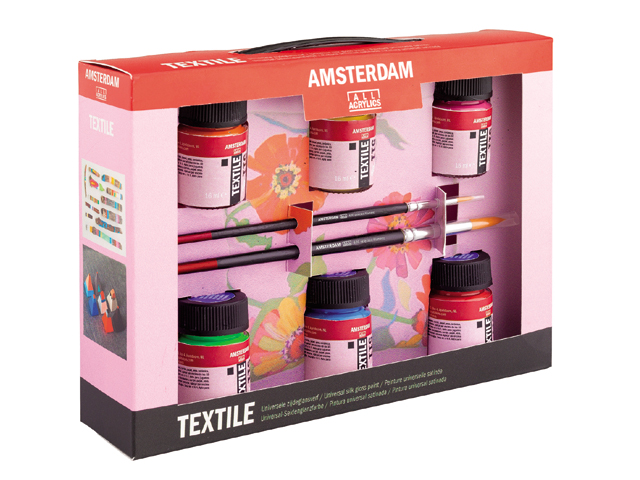 Boje za tekstil Decorfin Textile SET