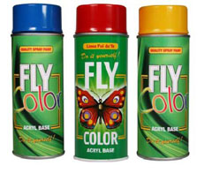Akrilni lak u spreju FLY COLOR 400 ml - izbor nijansi