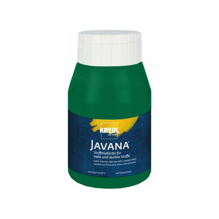 Javana boja za svetli I tamni tekstil 500 ml - 65 Dark Green