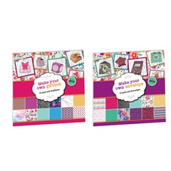 Kreativni set za scrapbooking Craft Sensations - 24 lista