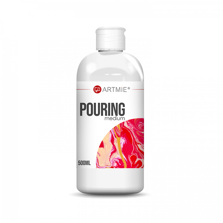 Profesionalni tečni medij Pouring Medium ARTMIE 500 ml