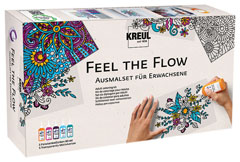 Set boja za staklo Feel the flow / 10 delni